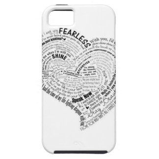 Swift lyric heart case iphone iPhone 5 covers
