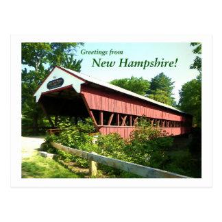 Swift River Bridge - New Hampshire Postcard