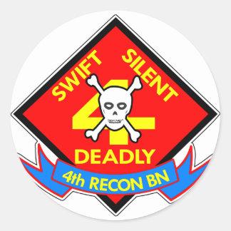 Swift Silent Deadly 4th Round Sticker