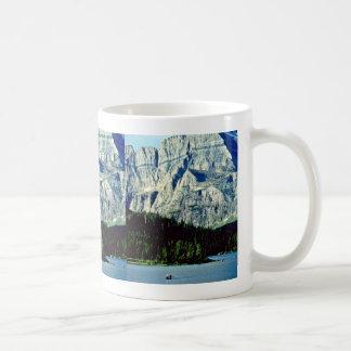 Swiftcurrent Lake - Glacier National Park Coffee Mug