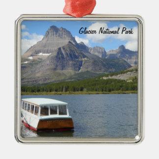Swiftcurrent Lake - Glacier National Park Metal Ornament