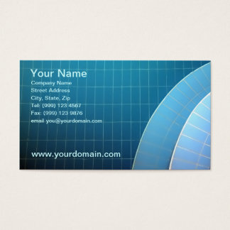 Swiiming Pool Business Card