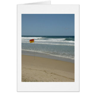 Swim Between The Flags Note Card