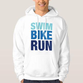 Swim Bike Run Hoodie