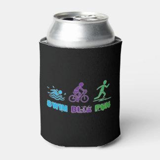 Swim Bike Run Ironman Triathlon Race Triathlete Can Cooler