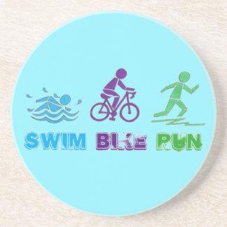 Swim Bike Run Marathon Triathlon Ironman Race Coaster