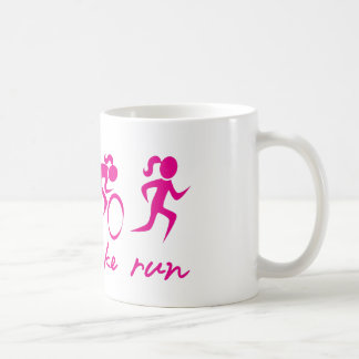 Swim Bike Run Tri Girl Coffee Mug