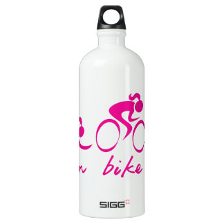 Swim Bike Run Tri Girl Water Bottle