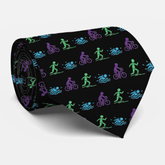 Swim Bike Run Triathlon Triathlete Ironman Race Tie