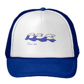 Swim Cap Trucker Hat