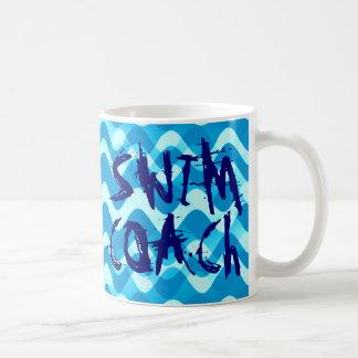 SWIM COACH BASIC WHITE MUG