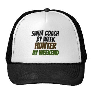 Swim Coach Hunter Cap