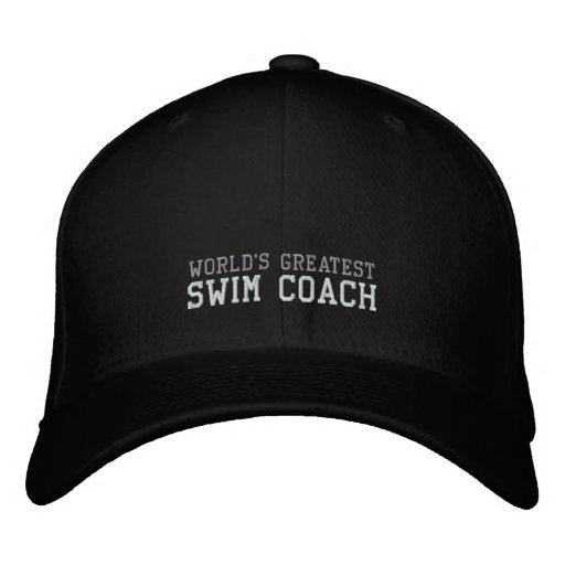 Swim Coach, World's Greatest Hat Baseball Cap