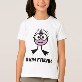 Swim Freak -  Pale Pink Swim Character T-Shirt