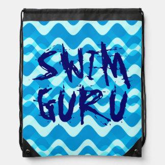 SWIM GURU DRAWSTRING BAGS