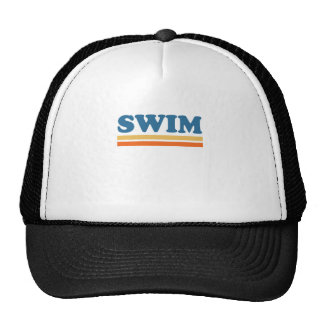 swim trucker hats