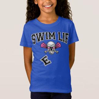 Swim life falling E youths tee