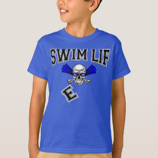 Swim life here to swim here to win T-Shirt