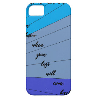 swim like a mermaid you never know when your legs iPhone 5 cases