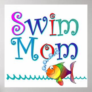 Swim Mom Poster