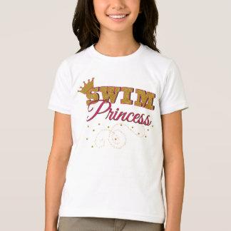 Swim Princess Kids T-Shirt