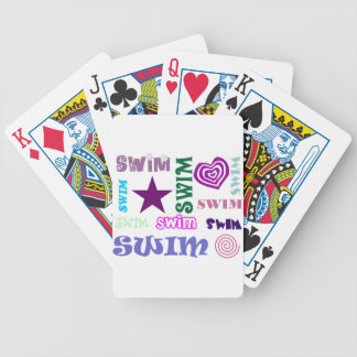 Swim Repeating Bicycle Playing Cards