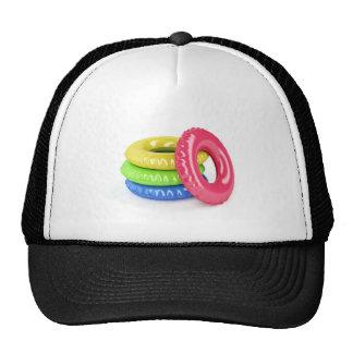 Swim rings cap