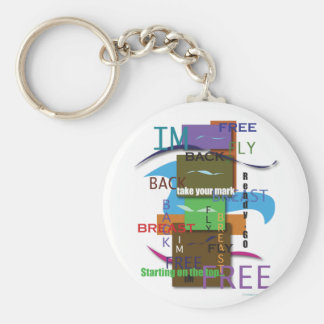 Swim Smorgasboard Key Ring