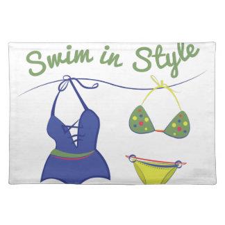 Swim Style Place Mats