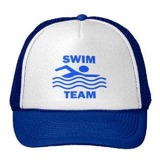 SWIM TEAM CAP