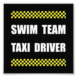 Swim Team Taxi Driver Art Photo