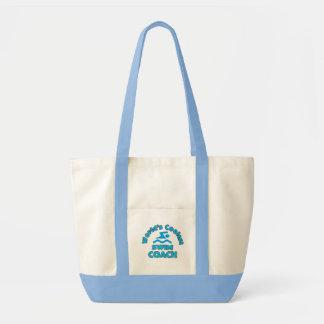 Swim Tote Bag - Cute Gift for Swim Coach