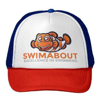 Swimabout Mascot Trucker Cap