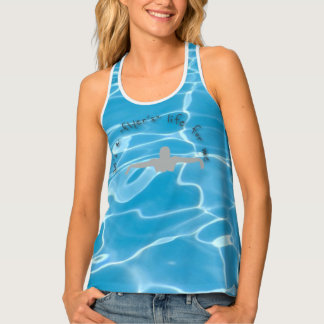 Swimmers Life Ladies Tank Top