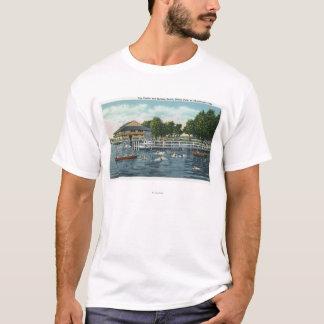 Swimming at Bemus Point Beach and Casino T-Shirt