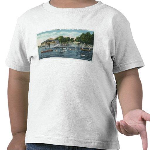 Swimming at Bemus Point Beach and Casino Shirts