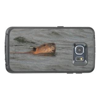 Swimming Beaver OtterBox Samsung Galaxy S6 Edge Case