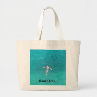 Swimming Boy Shopping Bag Designed by Admiro