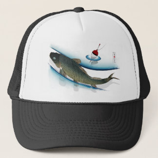 Swimming Carp Trucker Hat