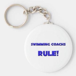 Swimming Coachs Rule! Key Ring