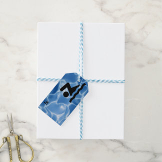 Swimming Design Gift Tags