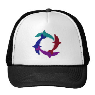 Swimming Dolphins Hats