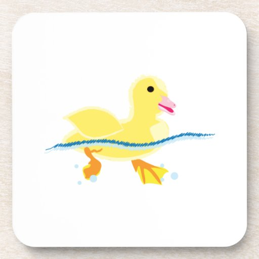 Swimming Duck Coasters