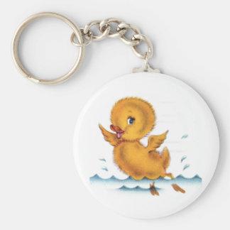 Swimming Duckie Keychains