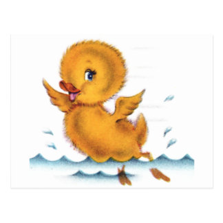 Swimming Duckie Post Cards