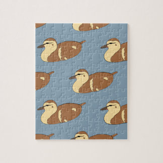 Swimming Ducks Jigsaw Puzzle
