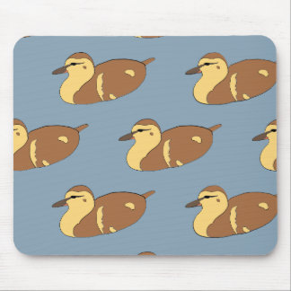 Swimming Ducks Mouse Pad