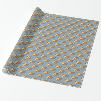 Swimming Ducks Wrapping Paper