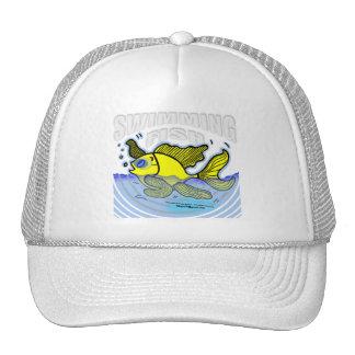 Swimming Fish Trucker Hats
