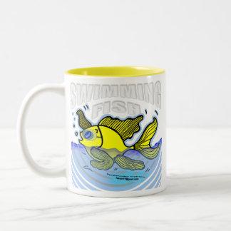 Swimming Fish Mugs